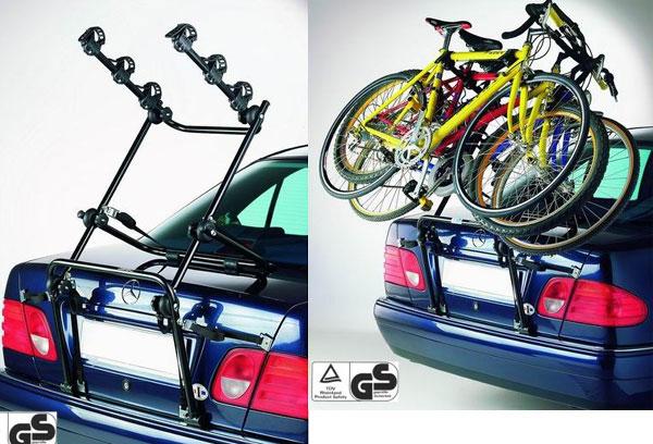 велобагажник на седан сзади выбора
