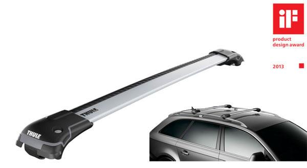 958X Комплект багажника Thule WingBar Edge для а/м с продольными рейлингами