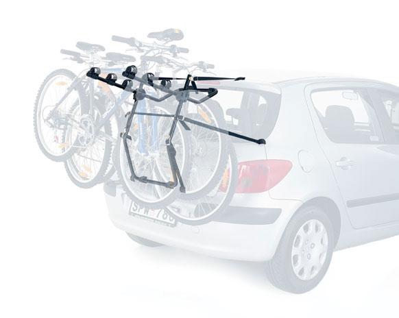 968 Велокрепление на заднюю дверь Thule для перевозки трех велосипедов