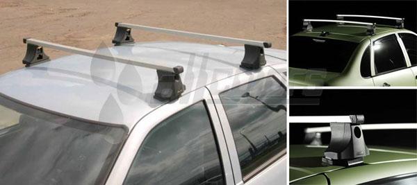Atlant Багажник для автомобилей с гладкой крышой Тип B 20x30