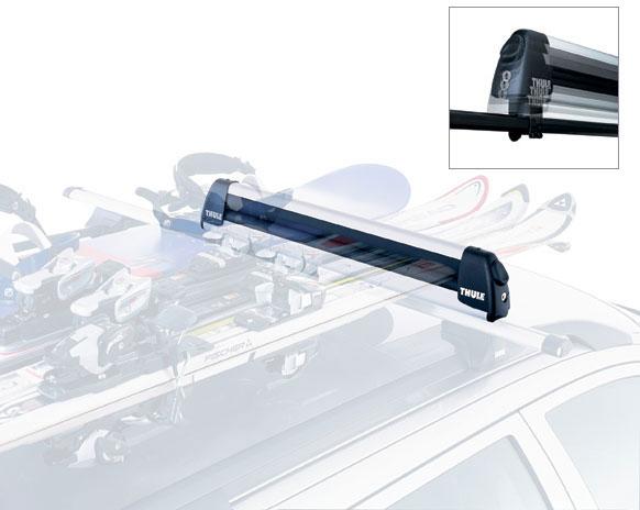 Thule 740 Крепление  Deluxe для перевозки трех пар лыж