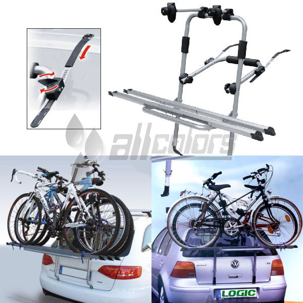 Багажник для велосипеда на заднюю дверь LOGIC (2 вел.) Menabo