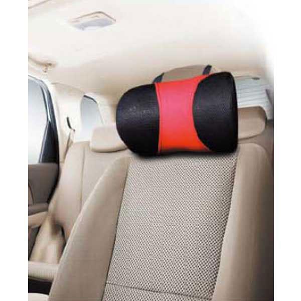 Sotra Подушка для шеи (серия Bow Tie-big) большая красно/черная латекс (FR 3135-61)