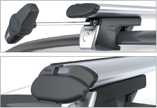 Atera Багажник Signo RT  для автомобилей с продольными дугами