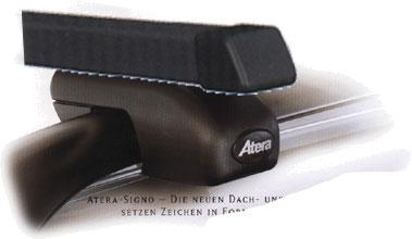 Atera Багажник ASR с прямоугольными дугами для автомобилей с продольными дугами