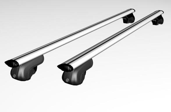 Универсальный багажник на стандартные и низкие рейлинги ПЕГАС-120