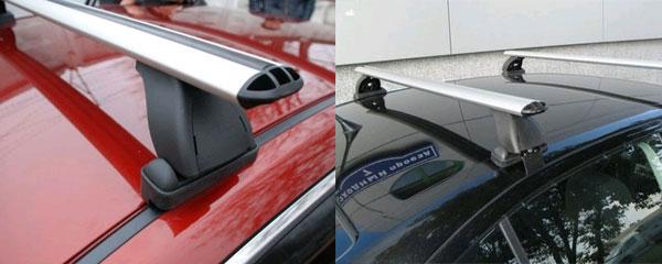 Lux Багажник с аэродинамической дугой для автомобилей без продольных дуг 1.2