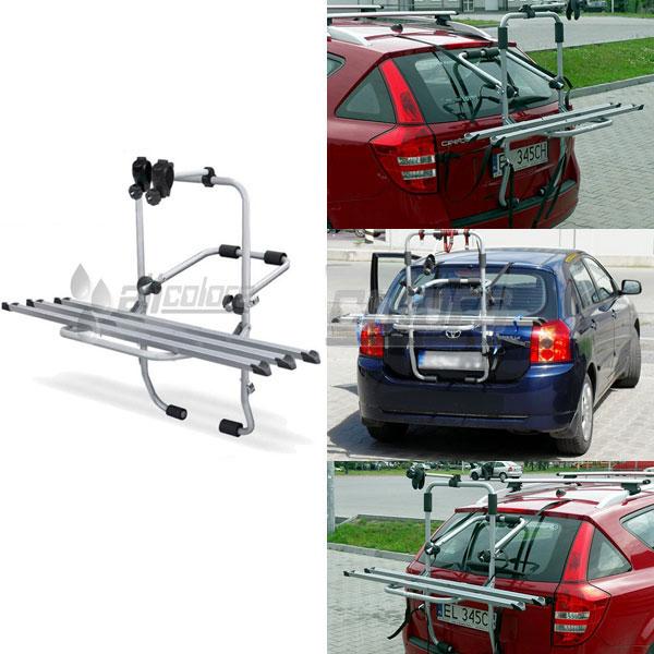 Багажник для велосипеда на заднюю дверь STEEL BIKE (3 вел.) Menabo