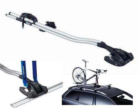 561 Крепление для перевозки велосипеда за вилку переднего колеса Thule
